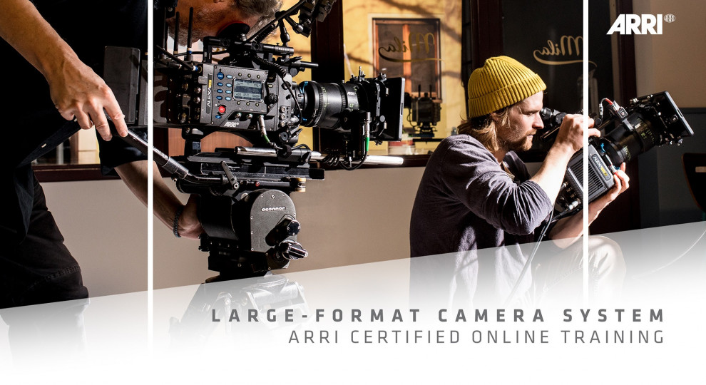 Certified Online Training for Large-Format Camera System