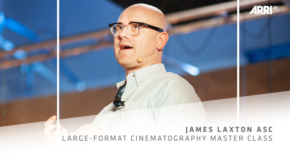 Large Format Cinematography with James Laxton ASC