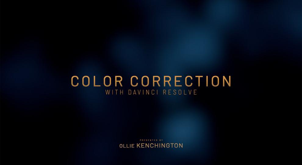 Color Correction with DaVinci Resolve