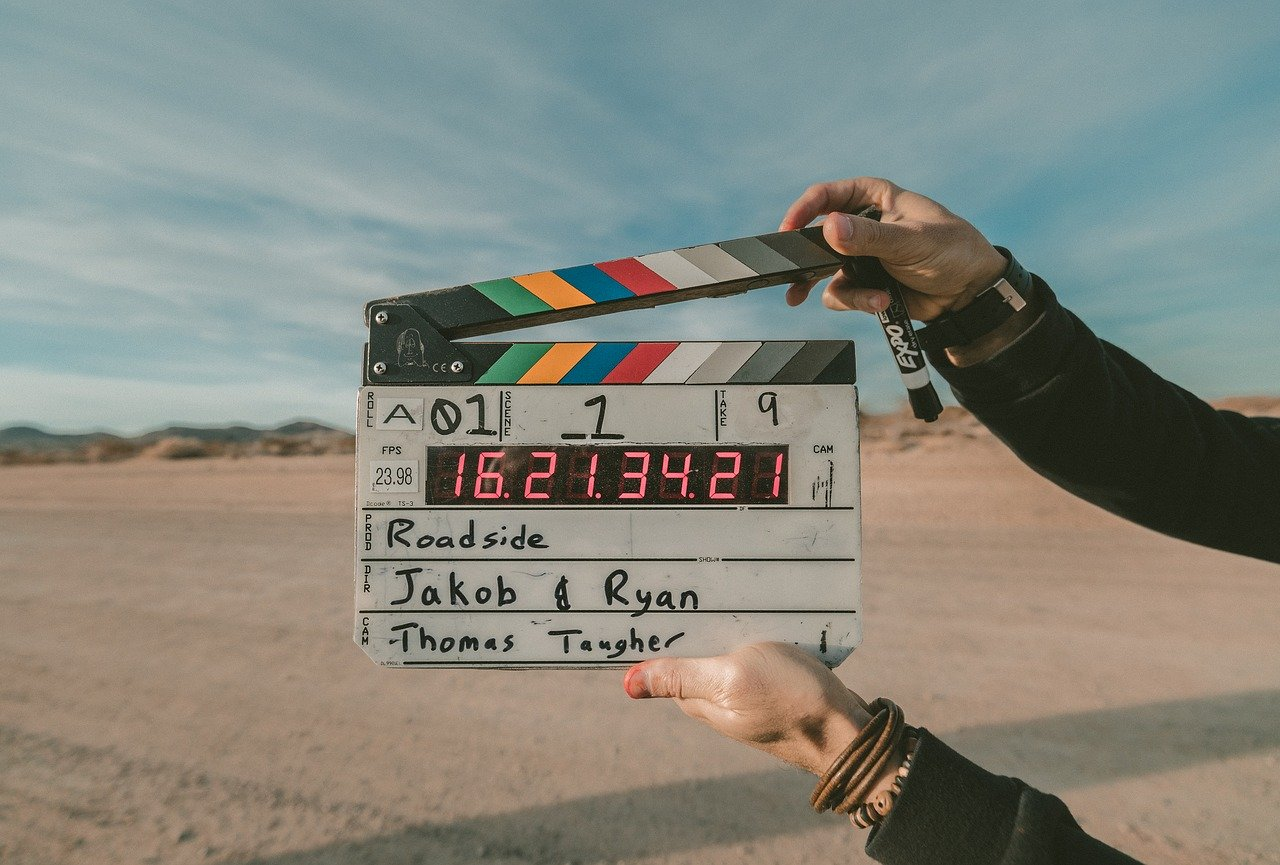 cinematography film slate